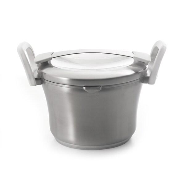 Auriga 3.1-quart Stainless Steel Covered Casserole Dish