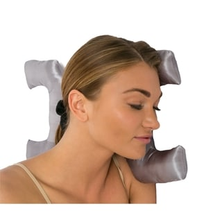 Satin Mocha Anti-Wrinkle Face Key Pillow