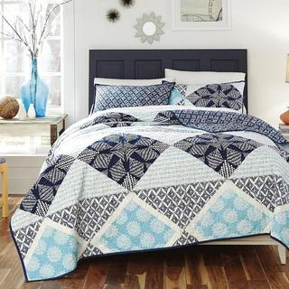 KD Spain Sedona 3-piece Cotton Quilt Set