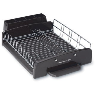 KitchenAid Classic 3-piece Black Dish Rack
