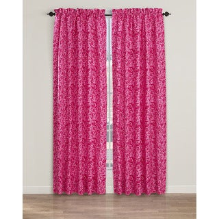 Betsey Johnson Dense Roses Window Panels