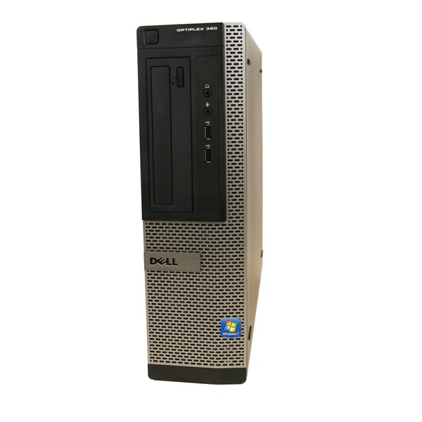 Dell OptiPlex 390 DT 2.7GHz Intel Pentium G630 4GB RAM 1TB HDD Windows 7 Computer (Refurbished)