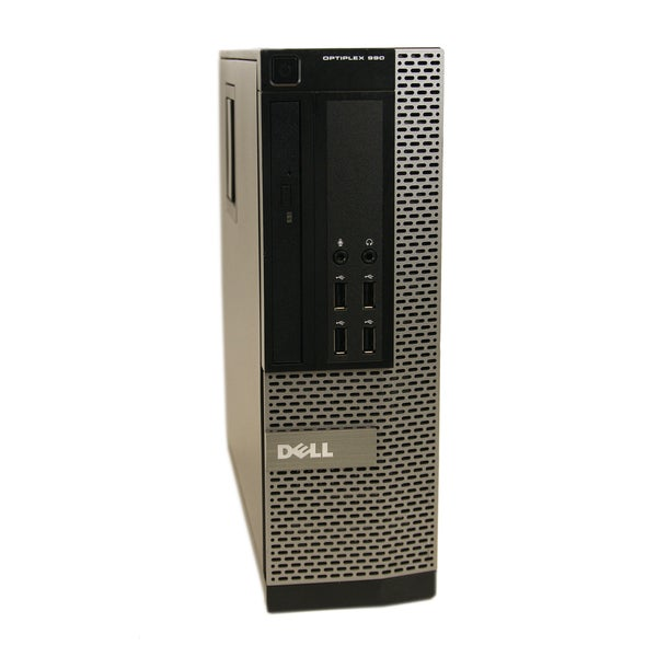 Dell OptiPlex 990 SFF 3.1GHz Intel Core i5 4GB RAM 1TB HDD Windows 8.1 Computer (Refurbished)
