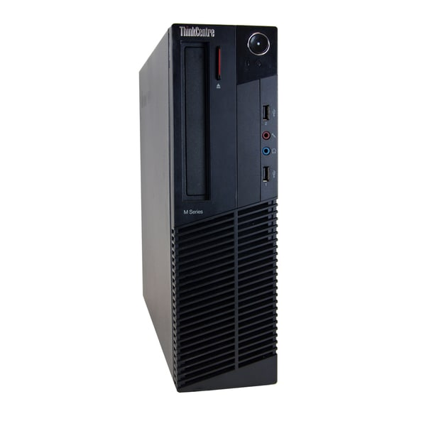 Lenovo ThinkCentre M81 SFF 3.1GHz Intel Core i5 4GB RAM 1TB HDD Windows 7 Computer (Refurbished)