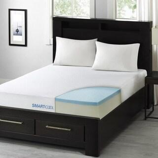 Smart Cool by Sleep Philosophy 10-inch King-size Gel Memory Foam Mattress