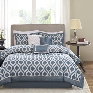 Madison Park Bergamo 7-Piece Comforter Set