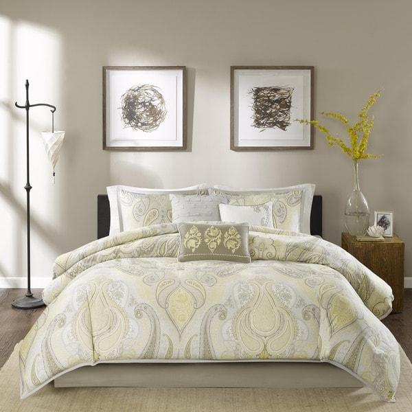 Madison Park Yasmin 7-Piece Cotton Comforter Set