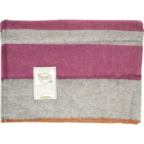 Woolrich Allegheny BBS Wool Throw