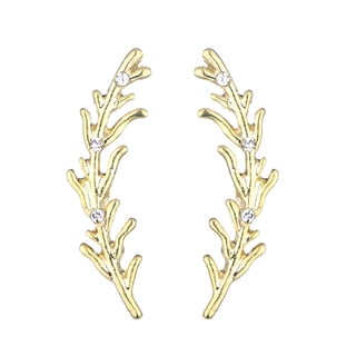 Leaf Set of Ear Cuffs