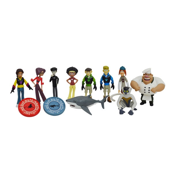 Wicked Cool Toys Wild Kratts 10-Pack Figure Gift Set 16264478