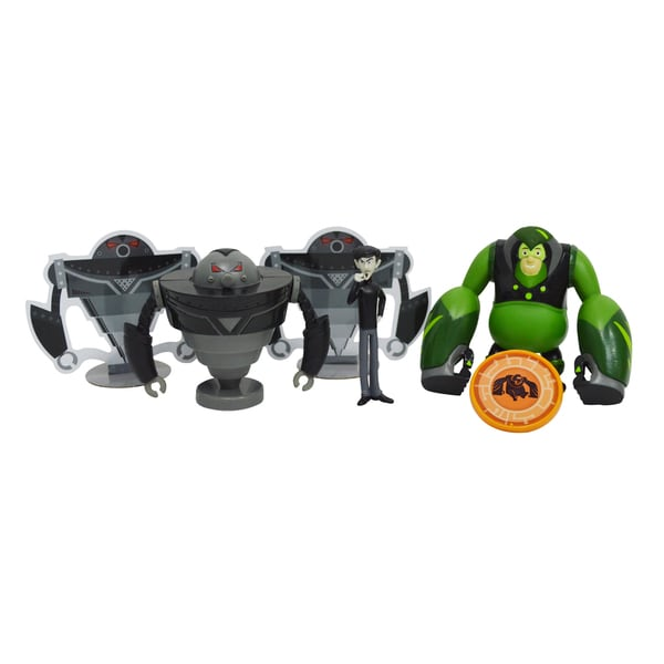 Wild Kratts Creature Power 4-Pack Action Figure Set