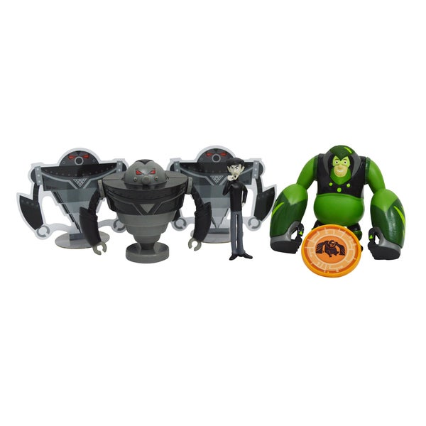 Wild Kratts Creature Power 4-Pack Action Figure Set 16264483