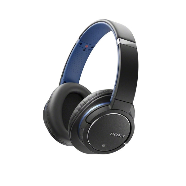 Sony MDRZX770BN Bluetooth and Noise Canceling Headset (Blue/Black)