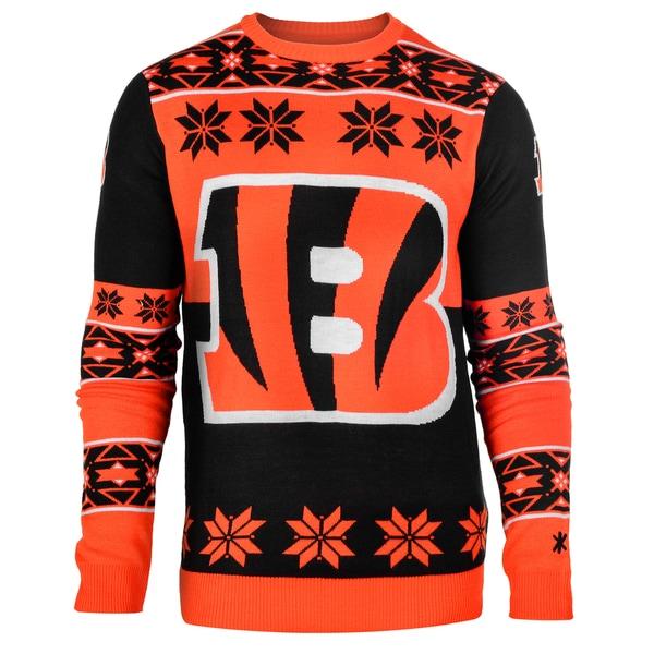 Forever Collectibles Nfl Cincinnati Bengals Big Logo Crew