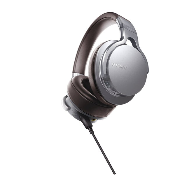 Sony MDR1ADAC/S Premium Hi-Res DAC/Amplifier-Integrated Headphones (Silver)