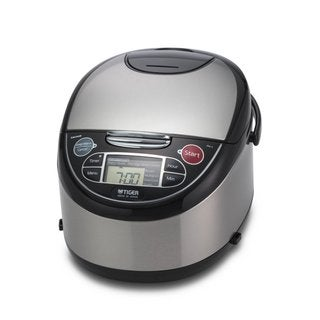 Tiger Corporation JAX-T10U 5.5-Cup Micom Rice Cooker and Warmer + Tacook Plate