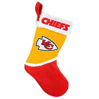 Forever Collectibles Kansas City Chiefs NFL 2015 Basic 17-inch Stocking