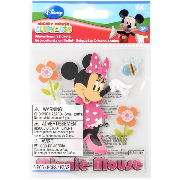 Disney Dimensional StickersMinnie Mouse