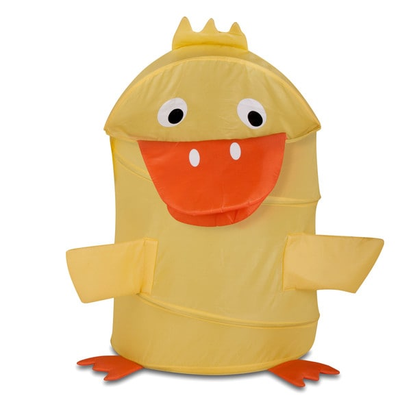 Honey Can Do HMP-02060 Large Kid's Duck Pop-Up Hamper