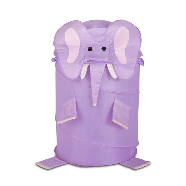 Honey Can Do HMP-02061 Large Kid's Elephnt Pop-Up Hamper