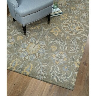 Christopher Agra Sage Hand-Tufted Rug (9'0 x 12'0)