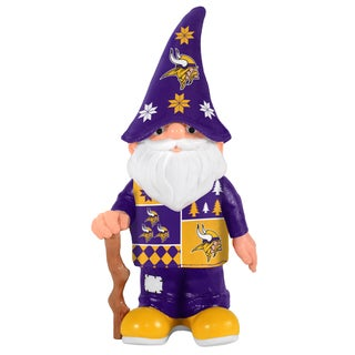 Forever Collectibles Minnesota Vikings Real Ugly Sweater Gnome