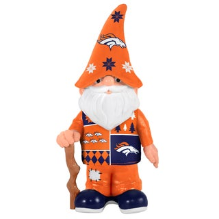 Forever Collectibles Denver Broncos Real Ugly Sweater Gnome