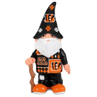 Forever Collectibles Cincinnati Bengals Real Ugly Sweater Gnome