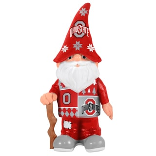 Forever Collectibles Ohio State Buckeyes Real Ugly Sweater Gnome