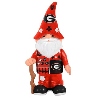 Forever Collectibles Georgia Bulldogs Real Ugly Sweater Gnome