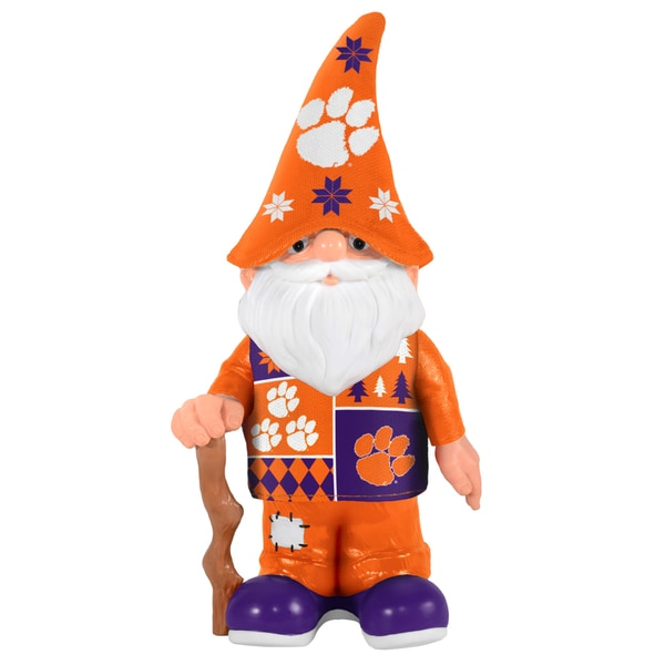 Forever Collectibles Clemson University Tigers Real Ugly Sweater Gnome 16264997