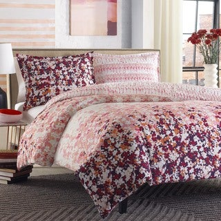 City Scene Forget Me Not Duvet Cover Set