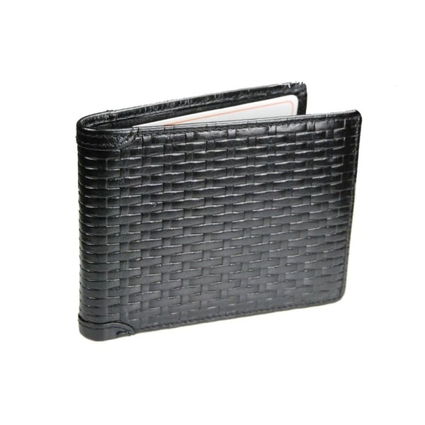 Castello Leather Flip-Out Bill-Fold Wallet With RFID