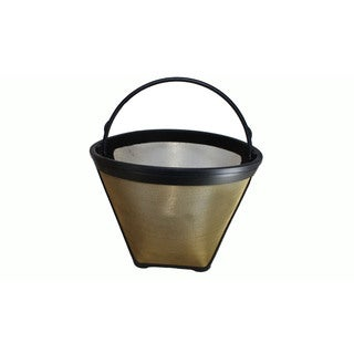 Cuisinart 4 Cup Gold Tone Coffee Filter Part GTF4