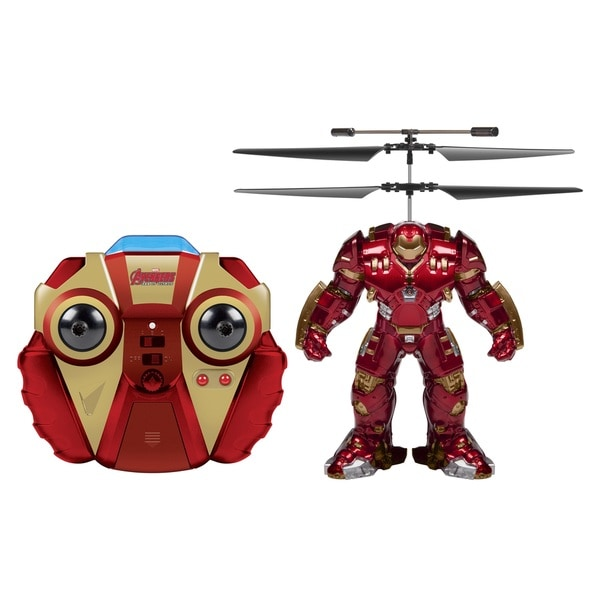 Marvel Comics Officially Licensed Avengers: Age Of Ultron Hulkbuster 2-channel IR RC Helicopter with Sounds 16265226