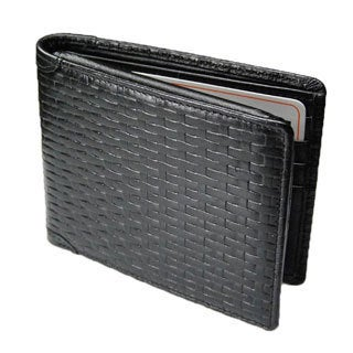 Castello Leather Flip-Up Bill-Fold Wallet With RFID
