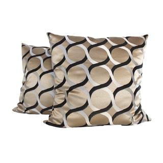 Gracious Links Throw Pillow (Set of 2)