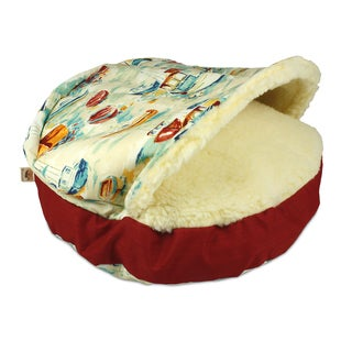 Snoozer Spinaker Bay Cozy Cave Pet Bed