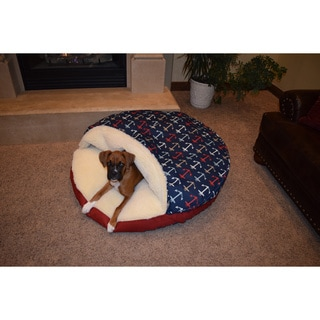 Snoozer Anchors Away Cozy Cave Pet Bed