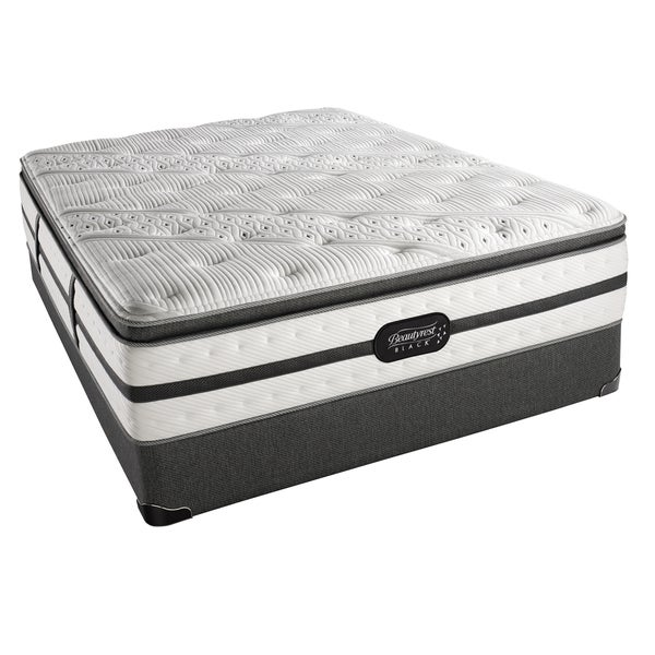 Simmons Beautyrest Black Evie Plush Box Top California King-size Set