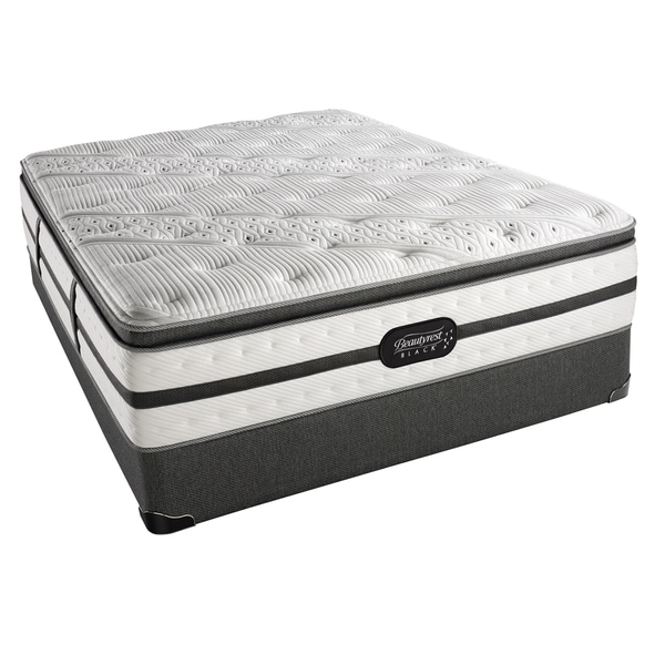 Simmons Beautyrest Black Evie Plush Box Top Queen-size Set