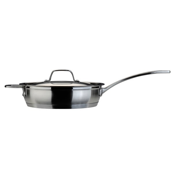 EarthChef 10-inch Professional Covered Deep Skillet