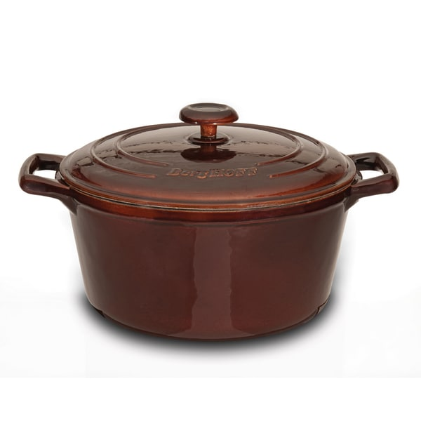 Neo Cast Iron Round Covered Casserole 8-inch (2.5Qt)