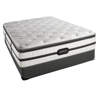 Simmons Beautyrest Black Evie Luxury Firm Pillow Top Queen-size Set