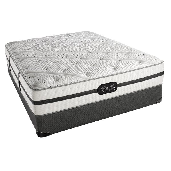 Simmons Beautyrest Black Ava Luxury Firm California King-size Set