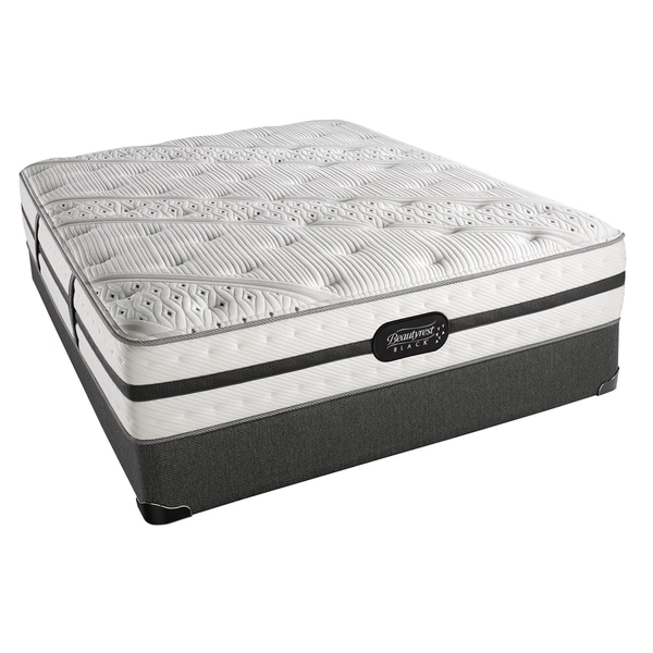 Simmons Beautyrest Black Ava Luxury Firm King-size Set
