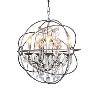 Aurelle Home Darra Medium Chandelier Light