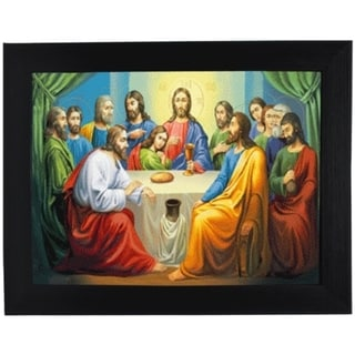 The Last Supper Framed 3D Wall Art
