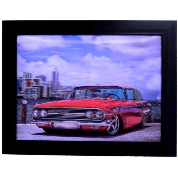 Classic Car Framed 3D Wall Art