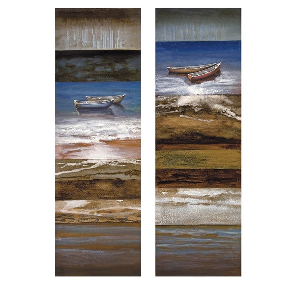 Waterside Serenity Oil Panting (Set of 2)